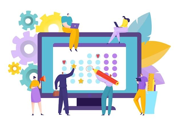 Kalendarz biznesowy i harmonogram zespołu