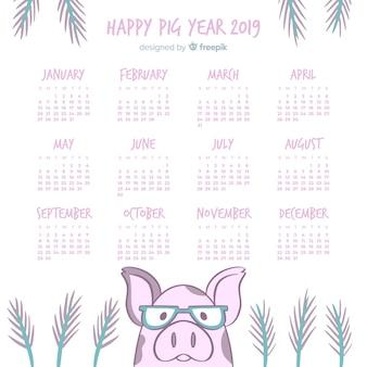 Kalendarz chiński nowy rok 2019