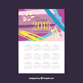 Kalendarz creative 2018