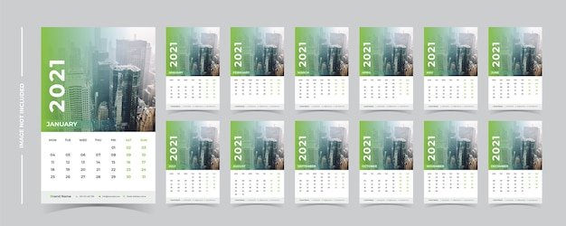 Kalendarz ścienny 2021