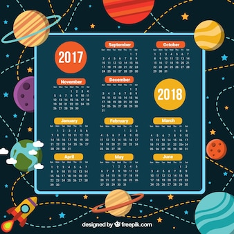 Kalendarz szkoły i przestrzeń