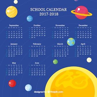 Kalendarz szkoły w kosmosie