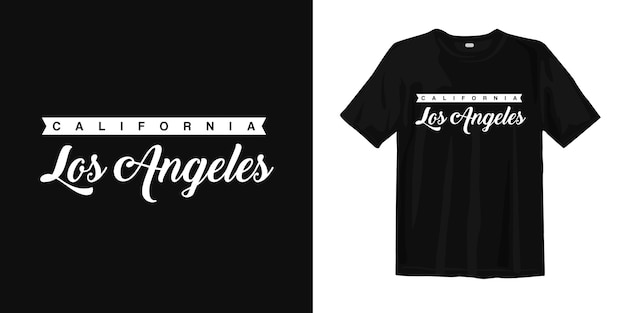 Kalifornia los angeles. usa t shirt design vintage miejski styl nosić