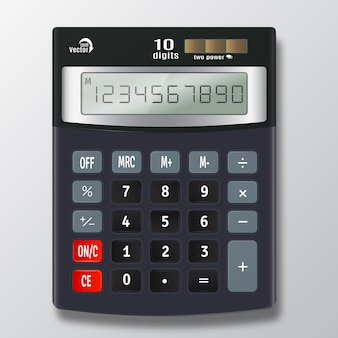 Kalkulator elektroniczny wektor