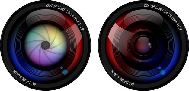 Kamera akcji w wodoodpornym pudełku na białym tle sprzęt do fotografowania sportów ekstremalnych