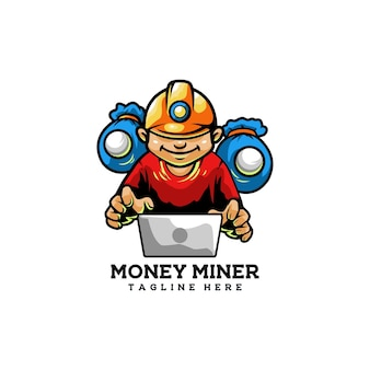 Kamień hakerski górnik pieniądze