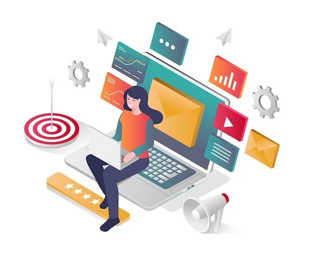 Kampania e-mail marketingowa i media społecznościowe