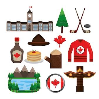 Kanadyjska insygnia obiekt symbol kolekcja narodowa