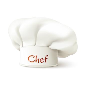 Kapelusz szefa kuchni realistyczny