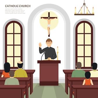 Kapłan kościoła katolickiego