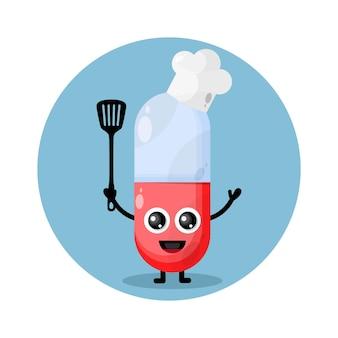 Kapsułka szefa kuchni postać słodkie