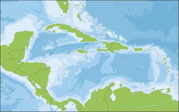Karaiby to region składający się z morza karaibskiego, jego wysp i okolicznych wybrzeży.
