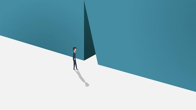 Kariery sposobność zaczyna opuszczać kluczową biznesową pojęcie ilustrację.