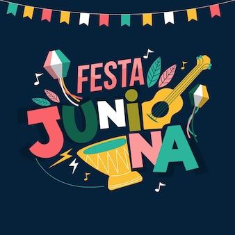 Karnawał płaski festa junina