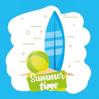 Karta czasu letniego i wakacyjnego