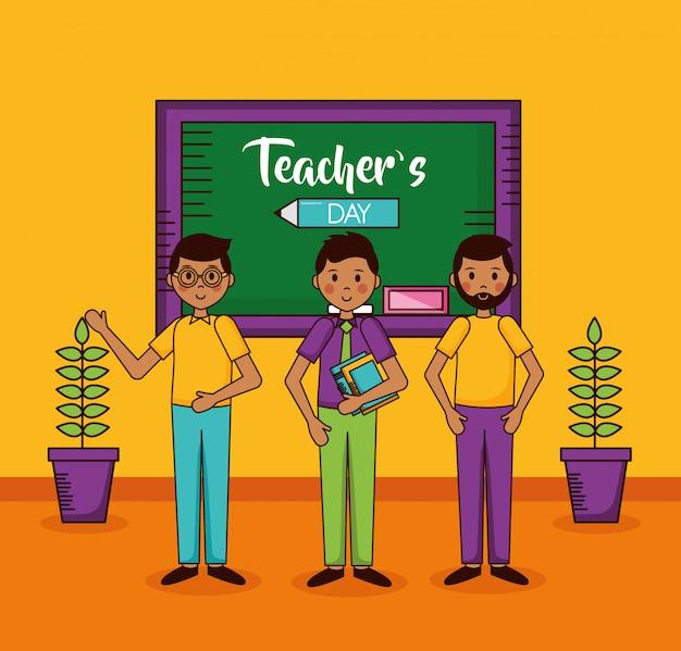 Karta dnia nauczyciela ludzi