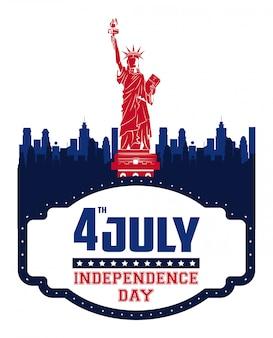 Karta dnia niepodległości usa