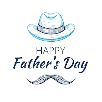 Karta dnia szczęśliwego ojca.