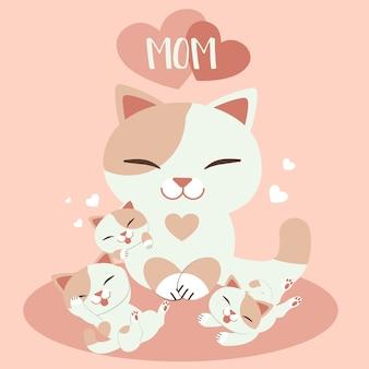 Karta dnia szczęśliwej matki