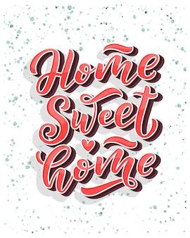 Karta domu słodkiego domu