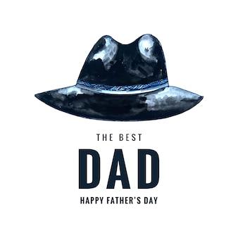 Karta dzień szczęśliwy ojców