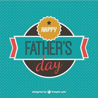 Karta dzień wolny szablon ojca