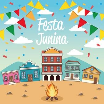 Karta festa junina