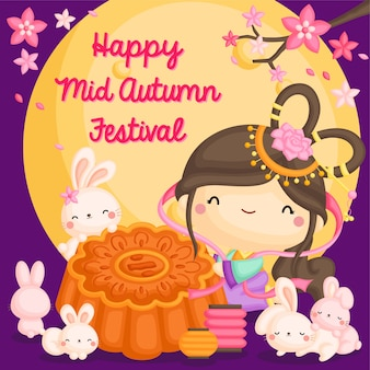 Karta festiwalu mooncake