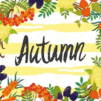 Karta jesień
