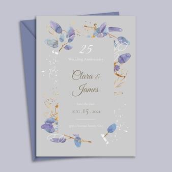 Karta jubileuszowa 25-lecia