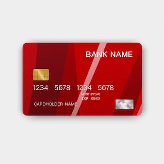 Karta kredytowa. z inspiracją z abstrakcji.