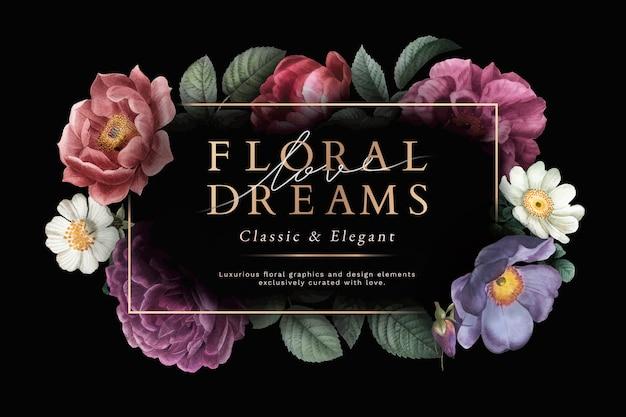 Karta kwiatowych marzeń