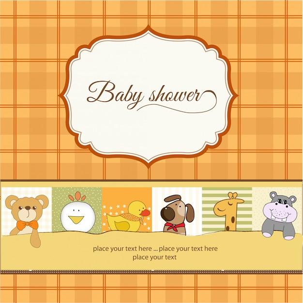 Karta ogłoszenia baby shower