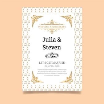 Karta rocznicy ślubu