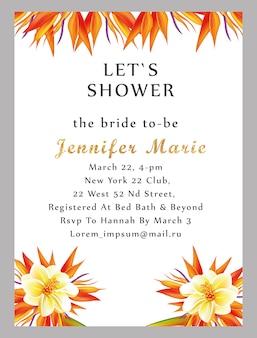 Karta ślubna dla nowożeńców