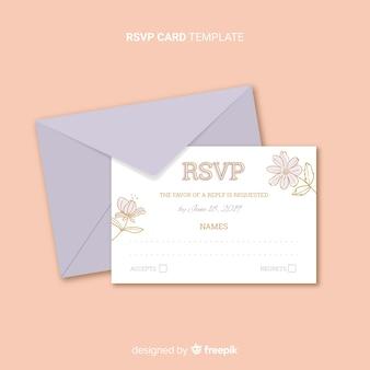 Karta ślubu weselnego