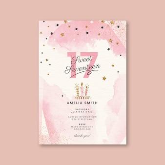 Karta urodzinowa