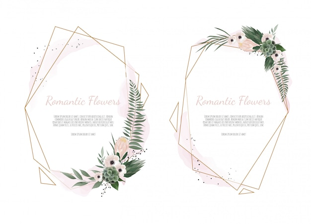 Karta z kwiatami liści