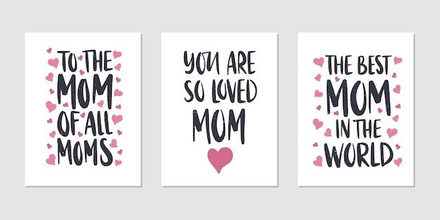 Karta z napisem dzień matki