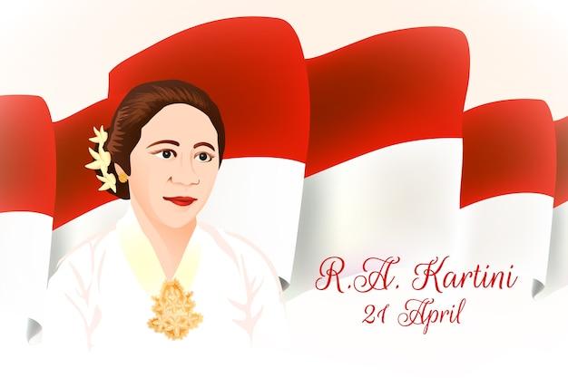 Kartini dzień bohaterka kobieta w inicjacji