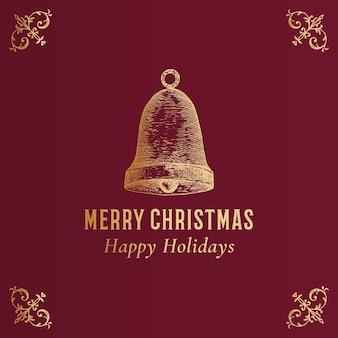 Kartka abstrakcyjna merry christmas