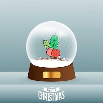 Kartka bożonarodzeniowa z kreatywnie eleganckim projektem