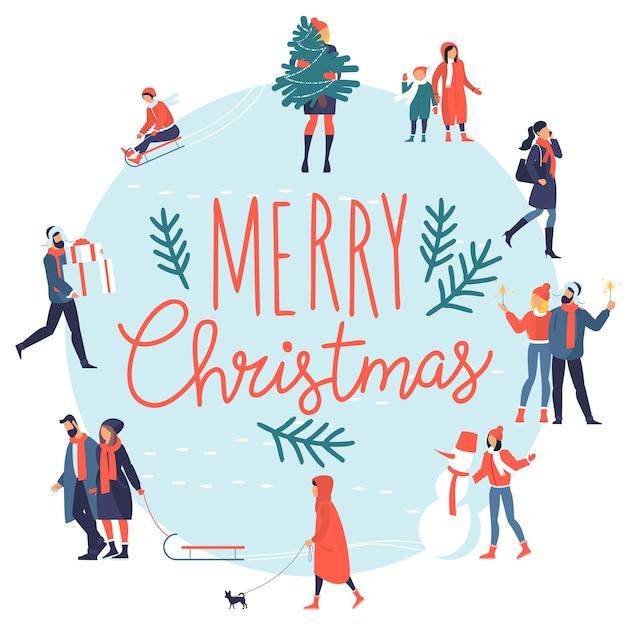 Kartka bożonarodzeniowa i noworoczna