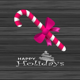 Kartka świąteczna candy cane