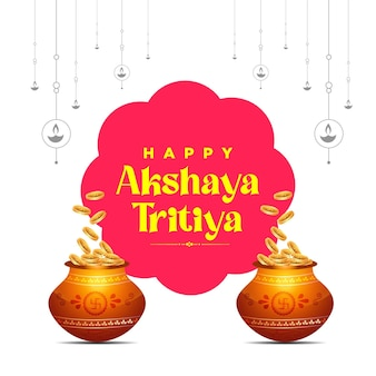Kartka z życzeniami festiwalu akshaya tritiya