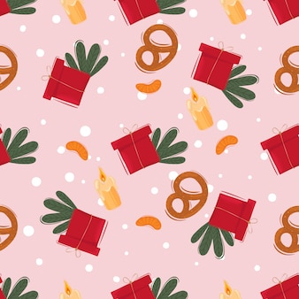 Kartka z życzeniami. świętuj dekoracje.