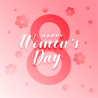 Kartka z życzeniami z okazji dnia kobiet 8 marca