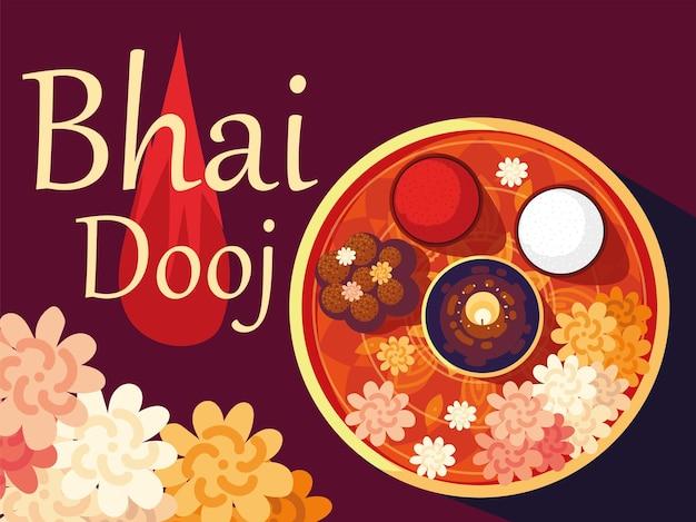 Kartkę z życzeniami bhai dooj