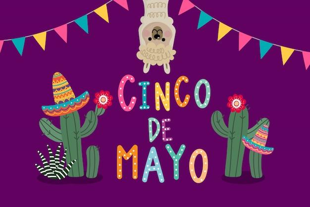 Kartkę z życzeniami cinco de mayo