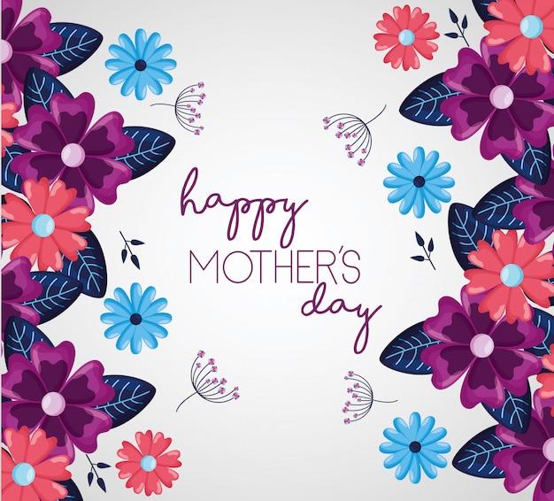 Kartkę z życzeniami dzień matki happy